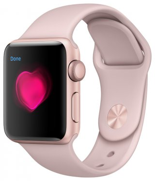 Díselo de corazón con un Apple Watch