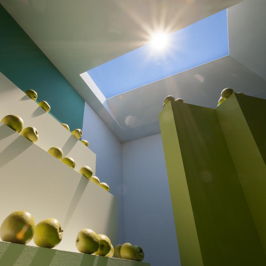 Ventanas que recrean la luz natural en espacios interiores - Que es la luz led ...
