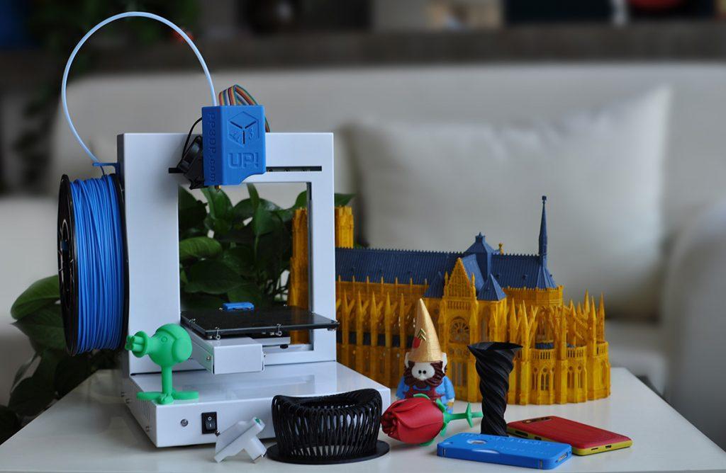 Primera Impresora 3d De Sobremesa Para Pymes Up Plus 2