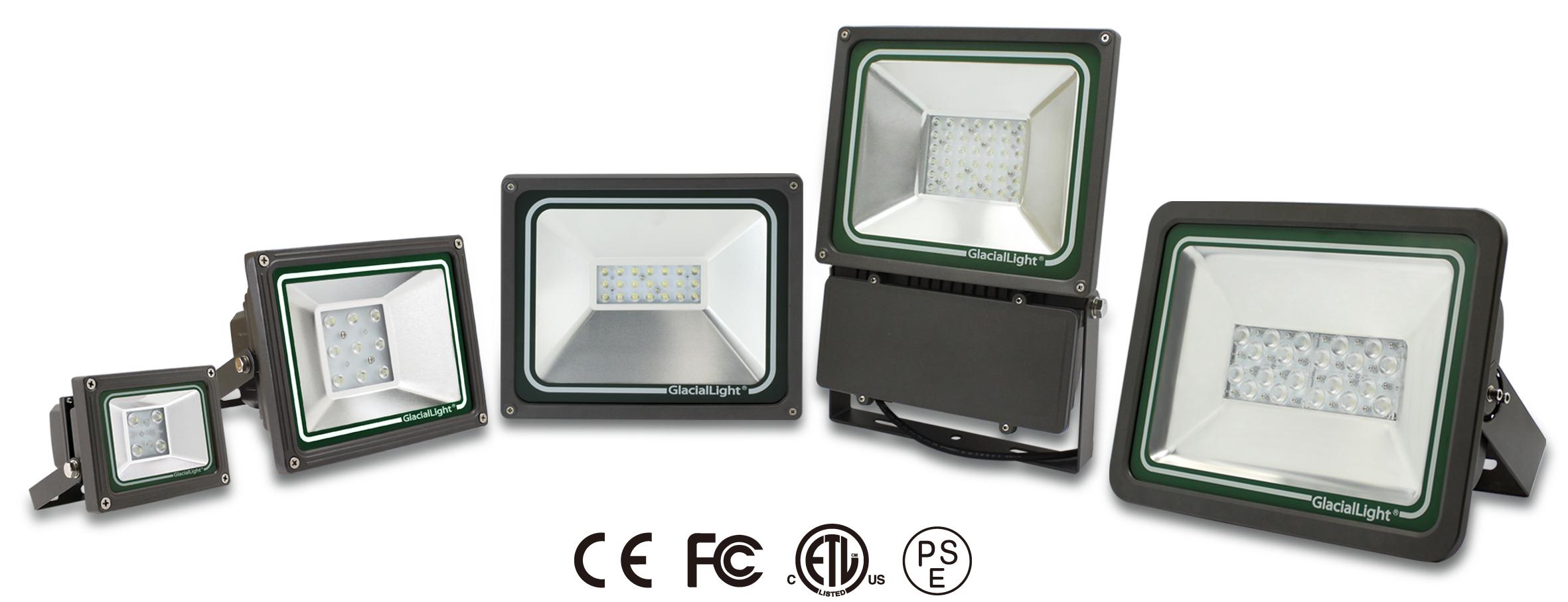 Nuevos focos led de glaciallight mundo digital for Focos de led para exterior