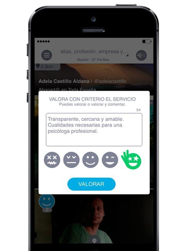 Guudjob app valoraciones