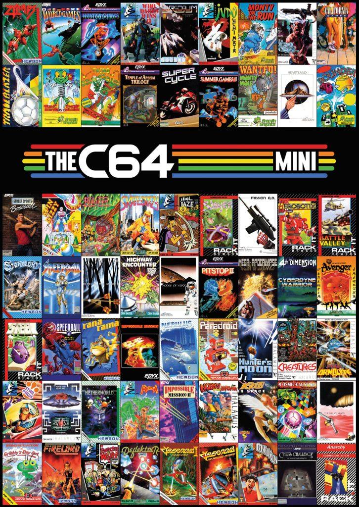 THEC64 Mini Games poster