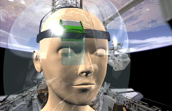 INNOVACIÓN: Innovación Unas gafas para astronautas dan voz a personas con discapacidad undefinedFacebookDeliciousMeneameArroba Unas gafas de realidad aumentada creadas para astronautas de la Agencia Espacial Europea tienen ahora su aplicación para ayudar a personas con discapacidad, cuyas limitaciones les impiden comunicarse normalmente. Esta tecnología detecta el movimiento de los ojos sobre un teclado virtual y traduce a voz las palabras deletreadas por sus usuarios. Más información sobre:realidad aumentadadiscapacidadcomunicaciónESA SINC     04 abril 2017 13:05 Un estudio de la ESA ha permitido desarrollar tecnologías que se podrían aplicar en gafas para ayudar a los astronautas durante los paseos espaciales. / ESA/LusoSpace Un estudio de la ESA ha permitido desarrollar tecnologías que se podrían aplicar en gafas para ayudar a los astronautas durante los paseos espaciales. / ESA/LusoSpace