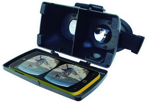 Gafas de realidad virtual compatibles con todo tipo de smartphones ...