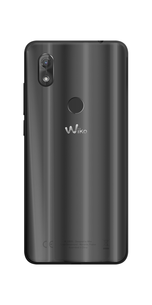 WIko_View-2_Anthracite_Back