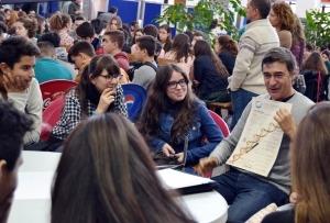 Los escolares han conocido de primera mano la labor investigadora que se realiza en la UMA