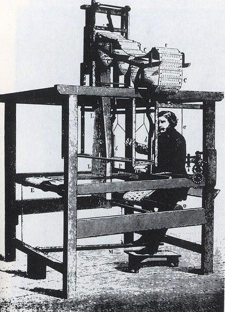 e7f7b4f81c2a32739de6b71c9663208e--jacquard-loom-weaving-looms