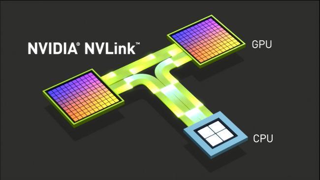 Grandes máquinas con NVLink para grandes avances