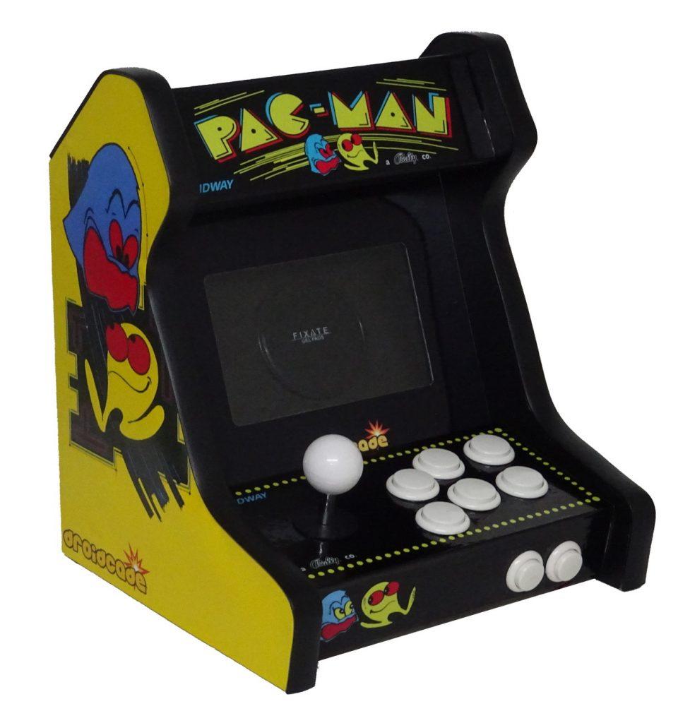 pac man arcade bartop cabinet recreativa matamarcianos