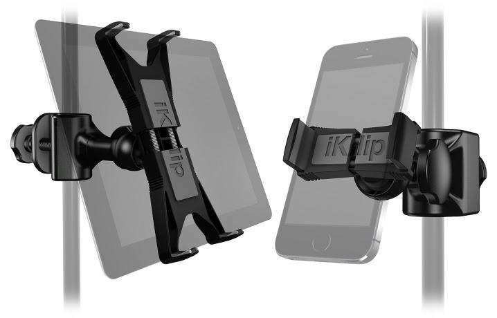 Soportes de micro para tablets y smartphones mundo digital for Soporte tablet pared