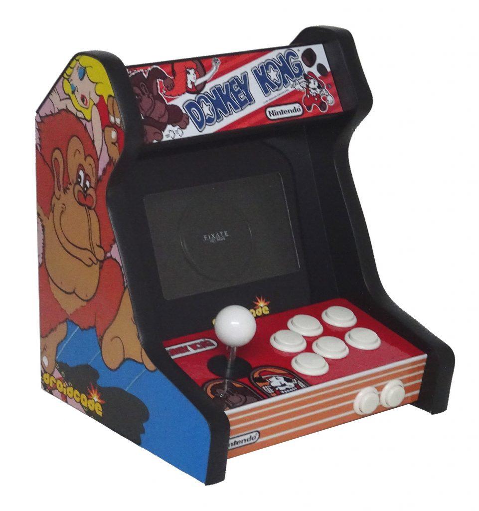 donkey kong arcade bartop cabinet recreativa matamarcianos